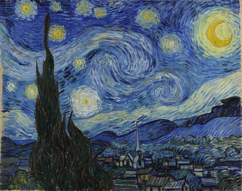 """""""Die Sternennacht"""" hat mir immer am besten gefallen..."""